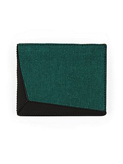 Tela Stella Wallet in Green