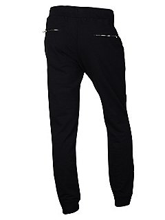 Shadow Project Stretch Cotton Sweatpants in Navy Blue
