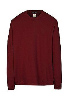 Shadow Project Stretch Sweatshirt in Burgundy
