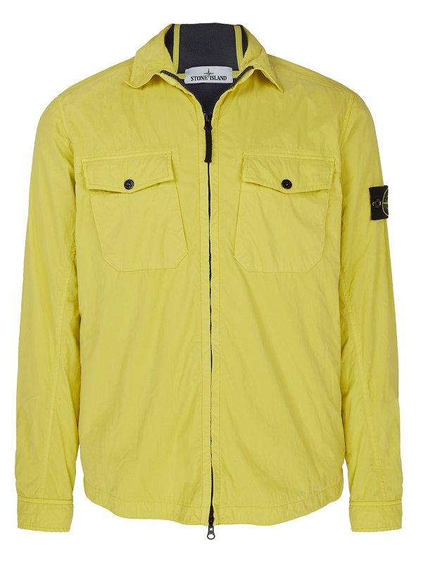 10317 EMERISED OVERSHIRT IN YELLOW