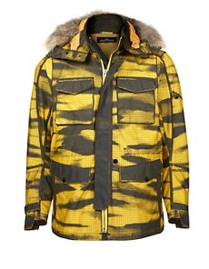 40604 DOWN FIELD JACKET HOLLOWCORE IN YELLOW