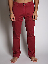 Acne Men's Guy Slim Cotton Chino Trouser