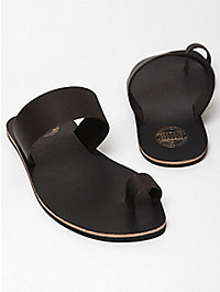Acne Mens Leather Agra Sandals