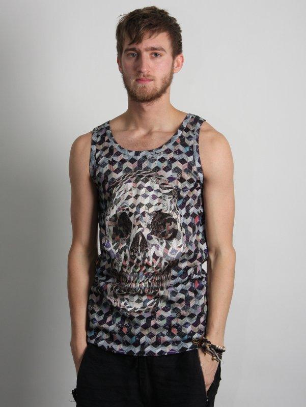 Alexander McQueen Patchwork Print Vest