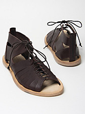 Alexander McQueen Men's Calamity Leather Sandals