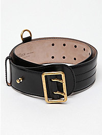 Alexander McQueen Men's Leather Belt