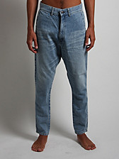 bassike Low Slung Jeans