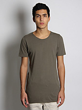 bassike Organic Cotton Slim T-Shirt