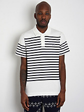 Billionaire Boys Club Striped Polo Shirt