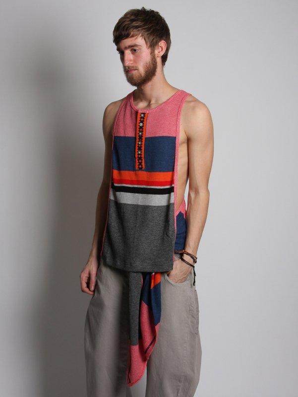 Bernhard Willhelm Waffle Knit Vest