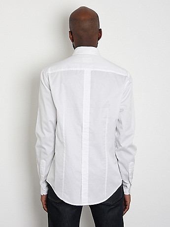 Oxford Buttondown Shirt: White