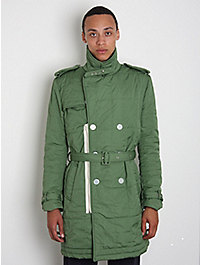 Band of Outsiders Padded Trench Coat