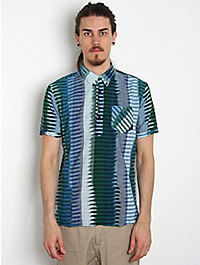 Burkman Brothers Ikat Popover Lung Shirt