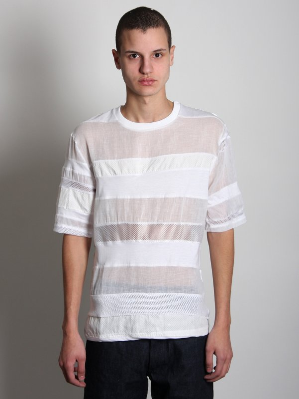 Christopher Shannon Stripe T-Shirt