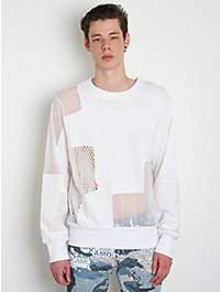 Christopher Shannon Panelled Sweatshirt