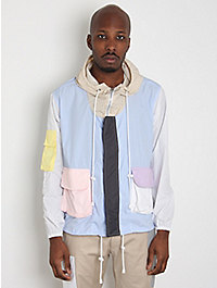 Christopher Shannon Panelled Anorak Jacket
