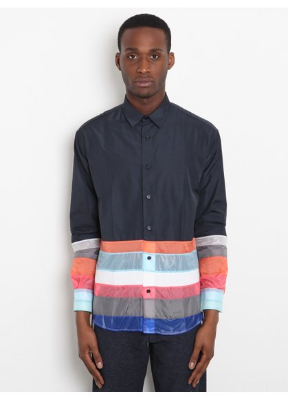 Christopher Shannon Men's Panelled Shirt
