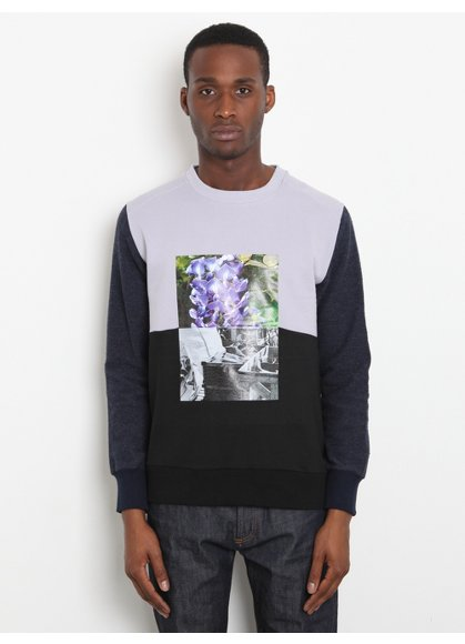 Christopher Shannon Men's Collage Print Sweatshirt