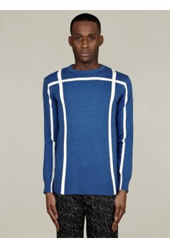 Men's Jacquard Knit Jumper