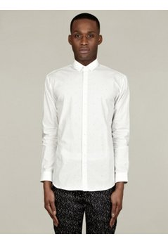 Men's Printed Classic Cotton Shirt