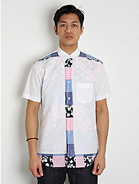 Comme des Garcons SHIRT Hawai Gingham Short Sleeve Shirt