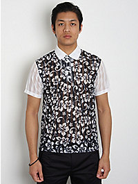 Comme des Garcons SHIRT Hawaiian Floral Shirt