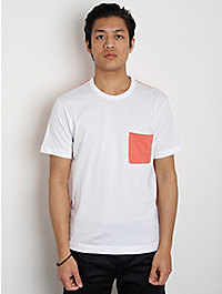 Comme des Garcons SHIRT Colour Patch Pocket T-Shirt W/Contrast Back
