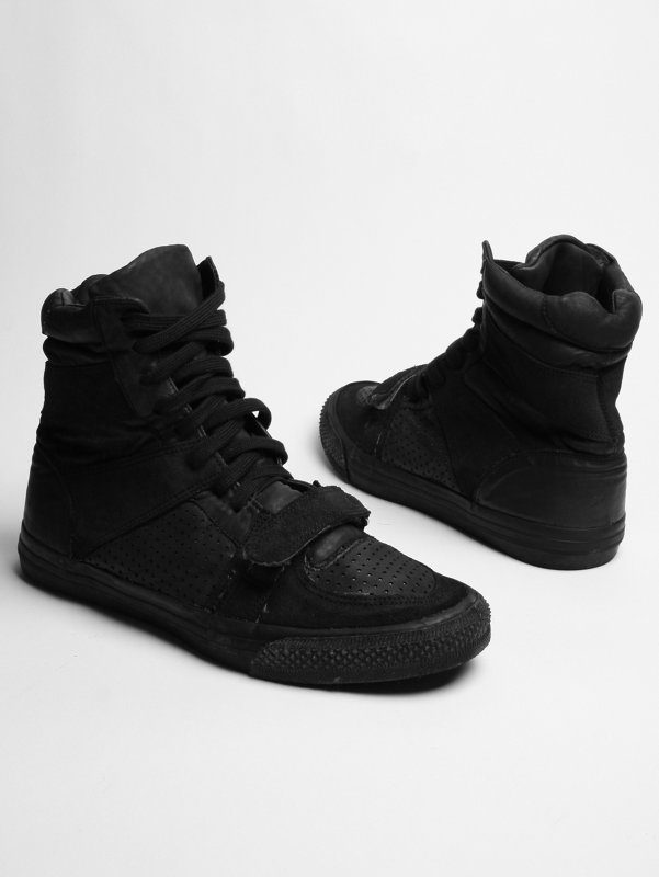 Christian Peau Washed Leather sneaker Boot