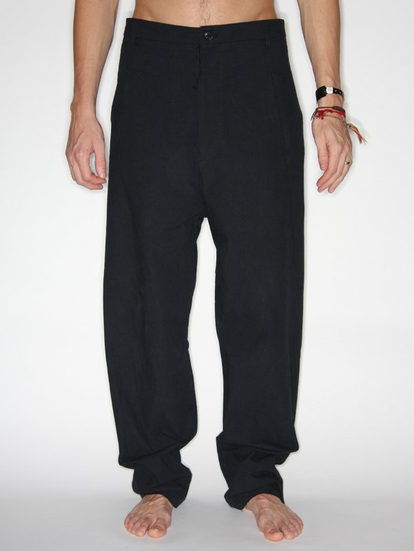 Damir Doma Cotton Low Crotch Trousers