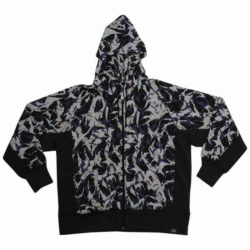 DENIM IS EVERYTHING Die Bat Camo Sweatshirt