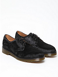 Dr Martens Hair on Horsey 3 Eye Derby Shoe