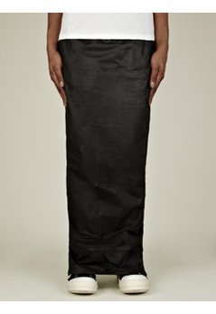 Men's Poplin Wax Pillar Skirt