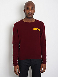 E. Tautz for oki-ni Exclusive Hand Knitted Fox Sweater
