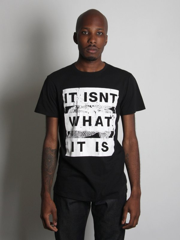 Evisu It Isn't What It Is T-Shirt
