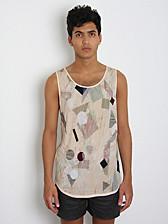 Forgotten Future Marquetry Print Vest