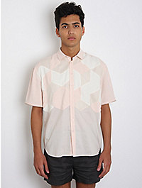 Forgotten Future Patchwork Removable Sleeve Shirt