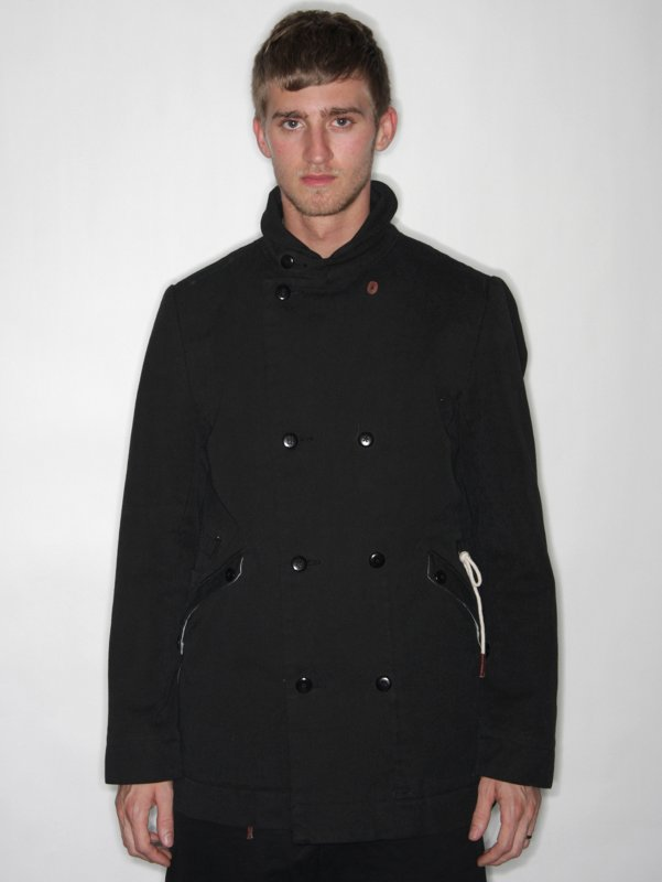Folk Canvas Overcoat