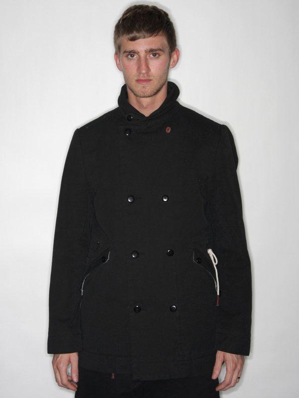 Folk Canvas Overcoat