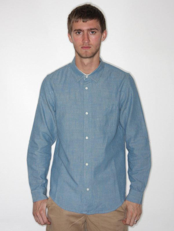 Folk Elbow Patch Shirt