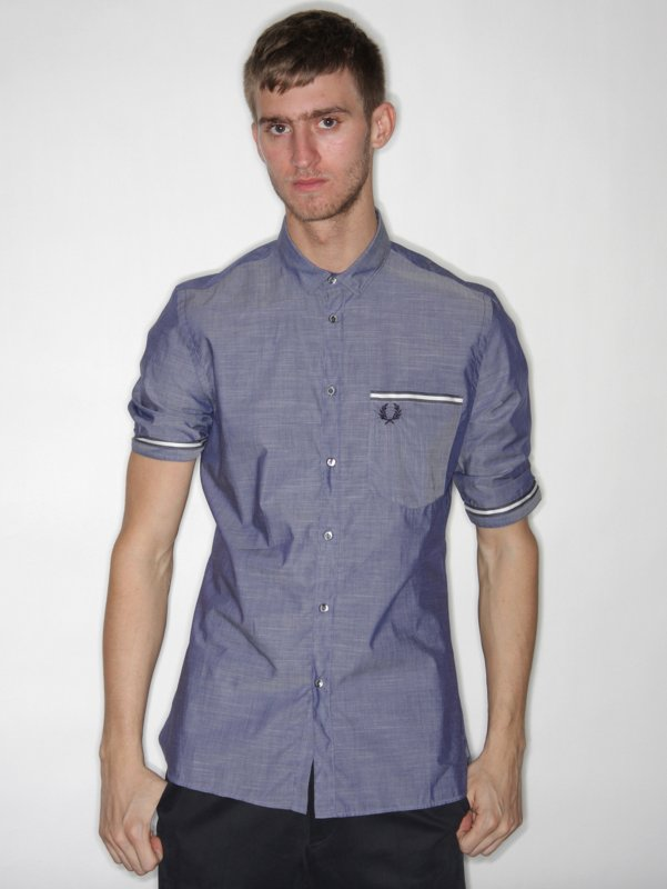 Fred Perry Selvedge End on End Shirt