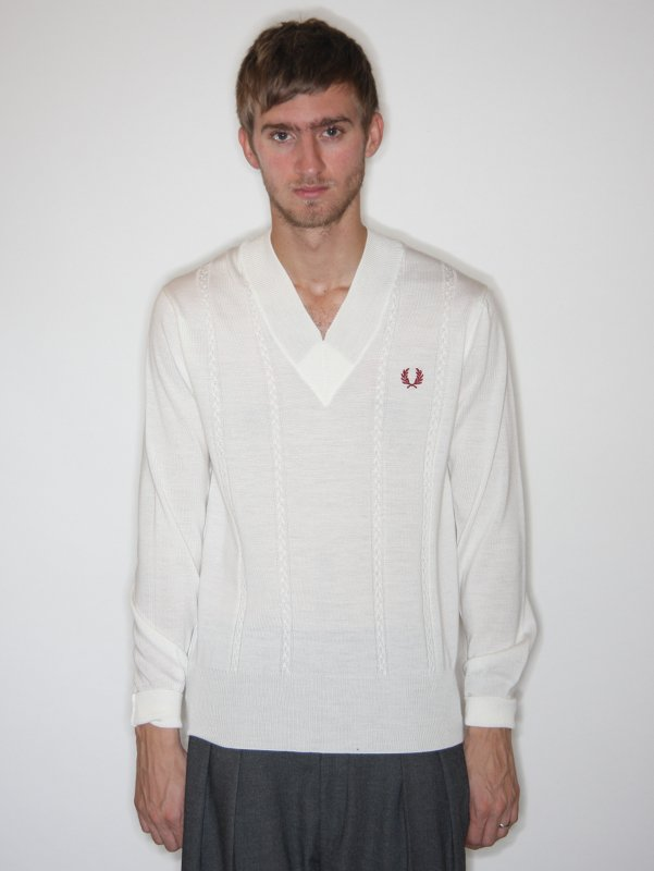 Fred Perry x Raf 100yr Cable Sweater
