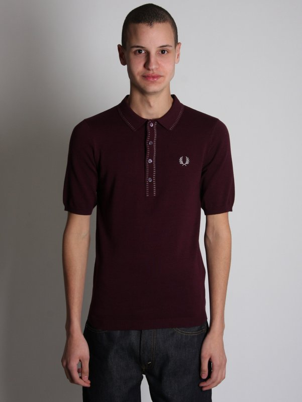 Fred Perry Tipped Sports Polo Shirt