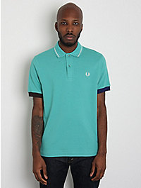 Fred Perry Laurel Men's Club Stripe Polo Shirt