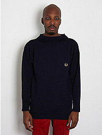 Fred Perry Laurel x Guernsey Woollens Men's Sweater Jumper