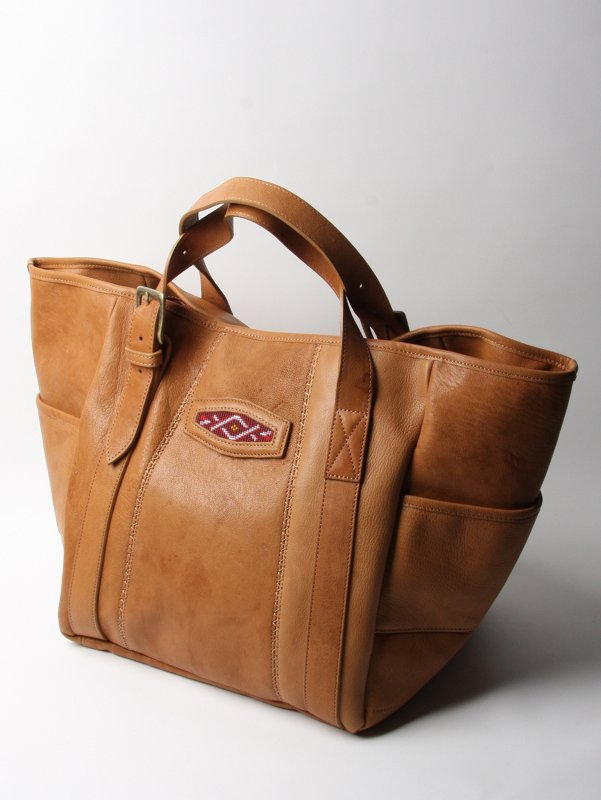 Hobo Leather Tote Bag