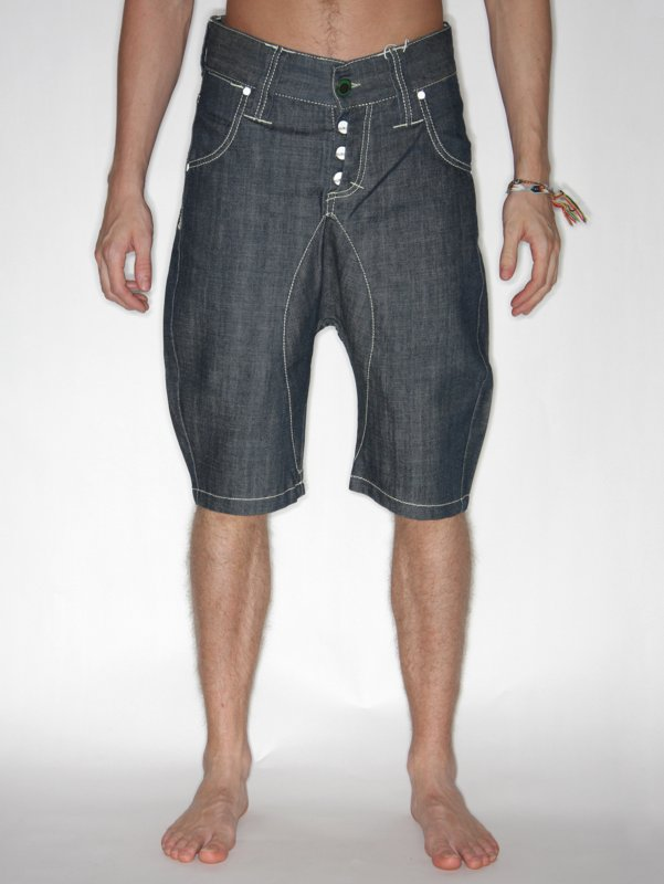 Humor Denim Shorts