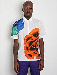 Jil Sander Men's Gallery Floral Print Shirt