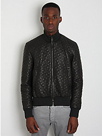 Jil Sander Men's Quilted Leather Jacket