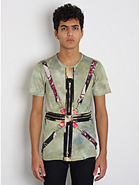 J.W. Anderson Men's Tie Dye Harness T-Shirt