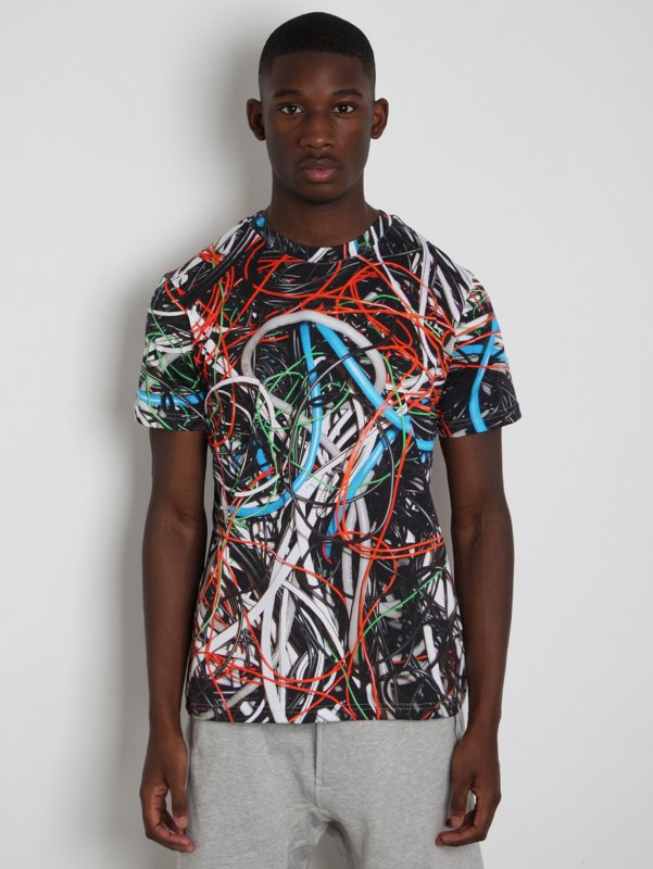 Mens Multi Cable T-Shirt